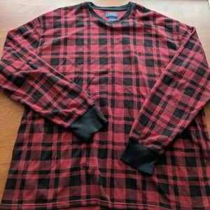 Red/Black Checkered Ralph Lauren Blue Label Shirt